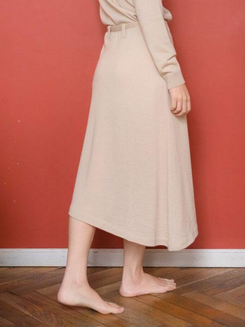 Falda de lana Merino