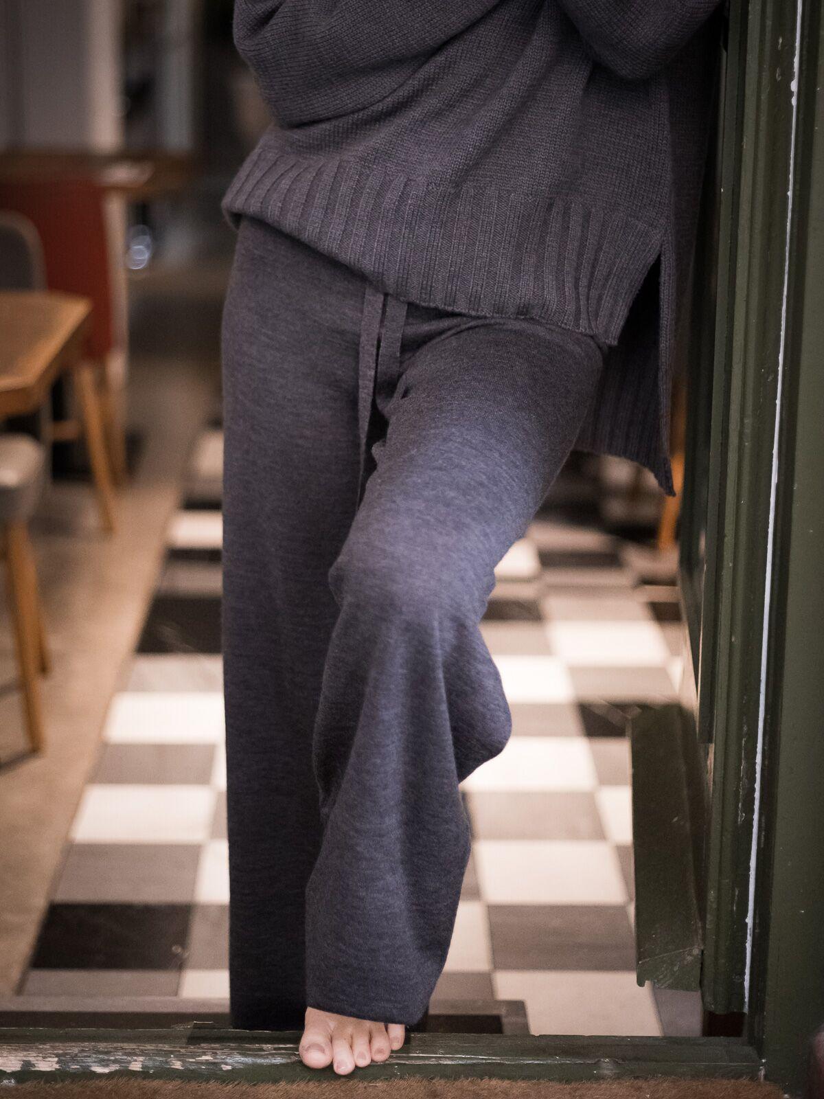 Pantalón largo lana Merino