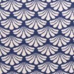 Corales azul blanco